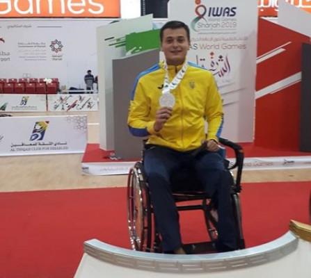 Закарпатець Максим Магула виборов дві медалі на чемпіонаті світу U23 з фехтування на візках