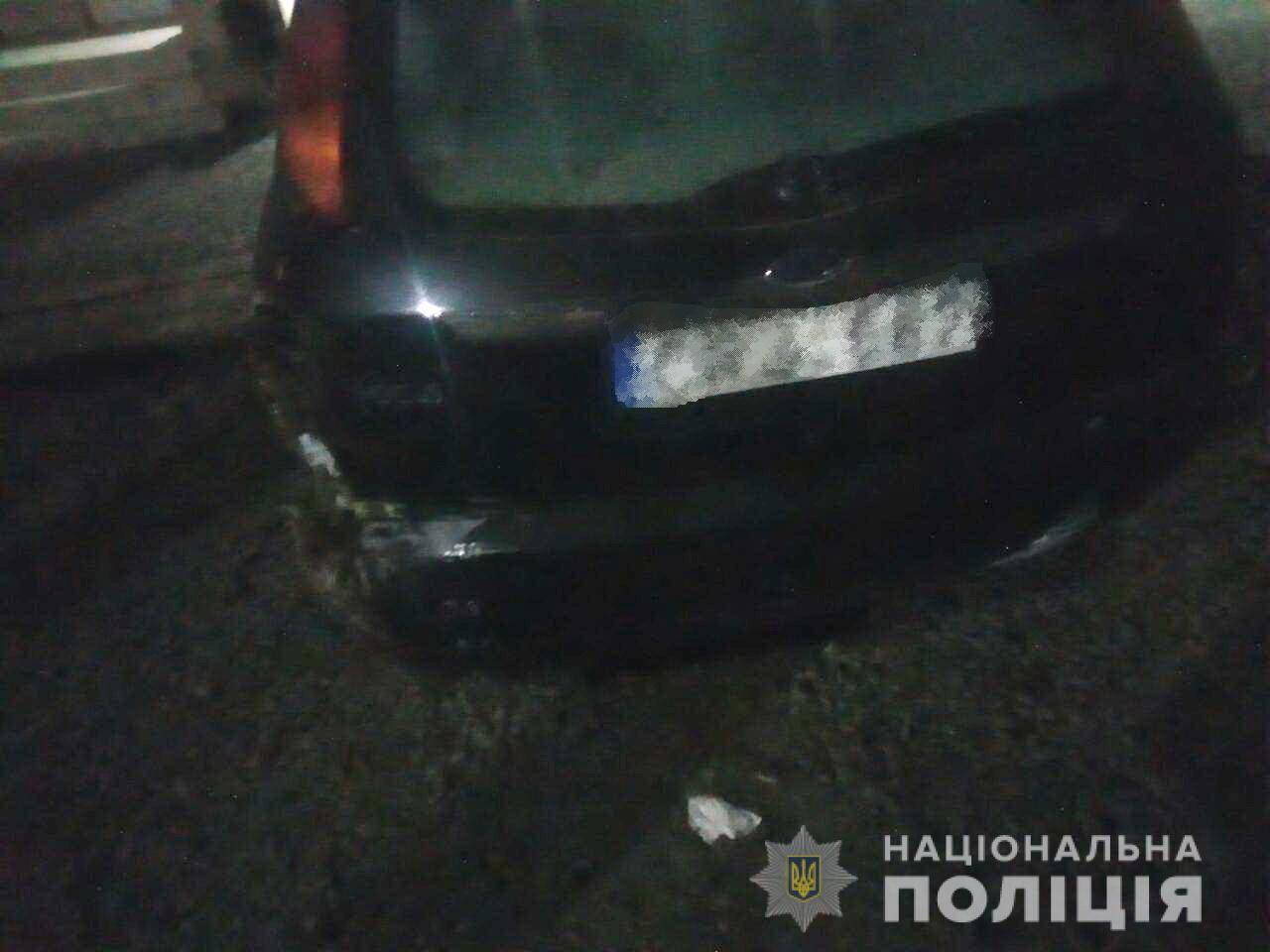 Вночі у Тячеві сталася аварія. Небайдужі звернулися в поліцію