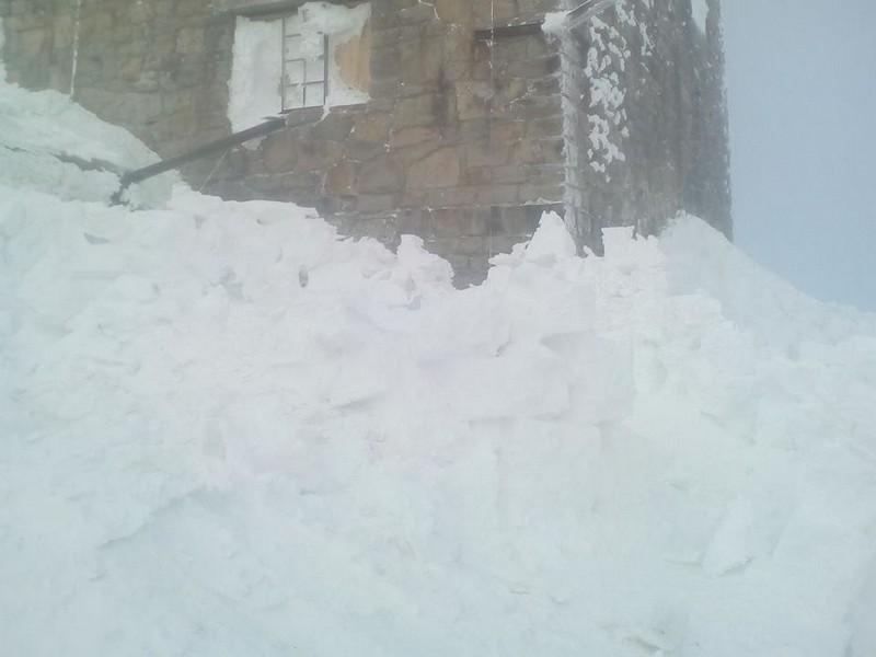 На горі Піп Іван 23 лютого температура опустилася до 20 градусів морозу