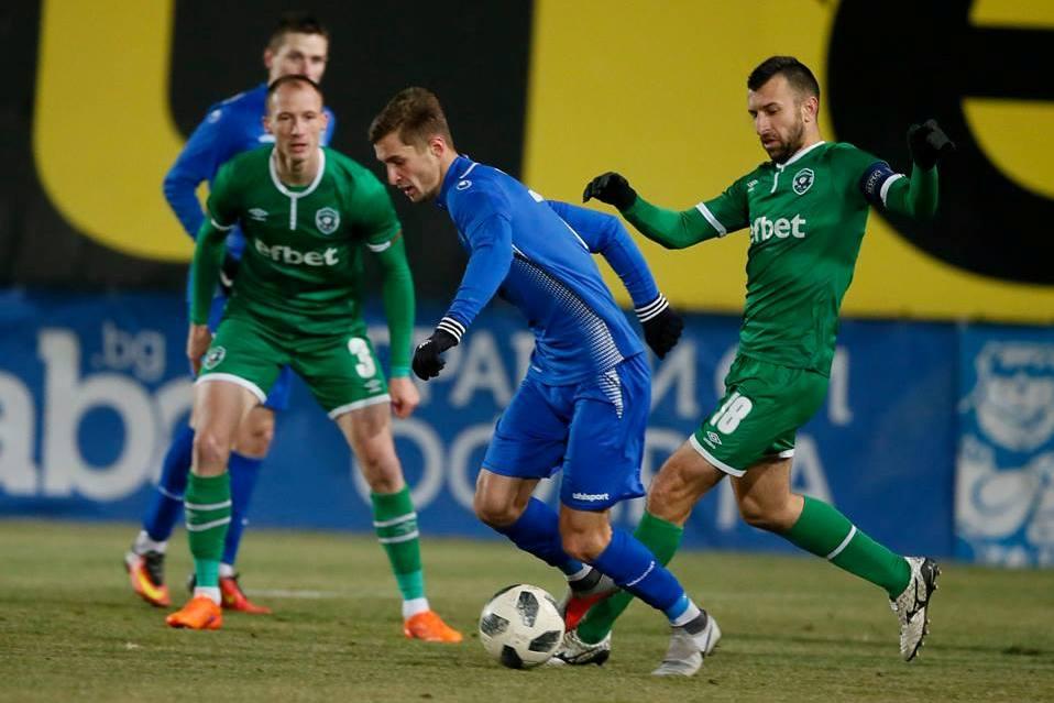 Закарпатець Євген Добровольський дебютував у вищій лізі Болгарії