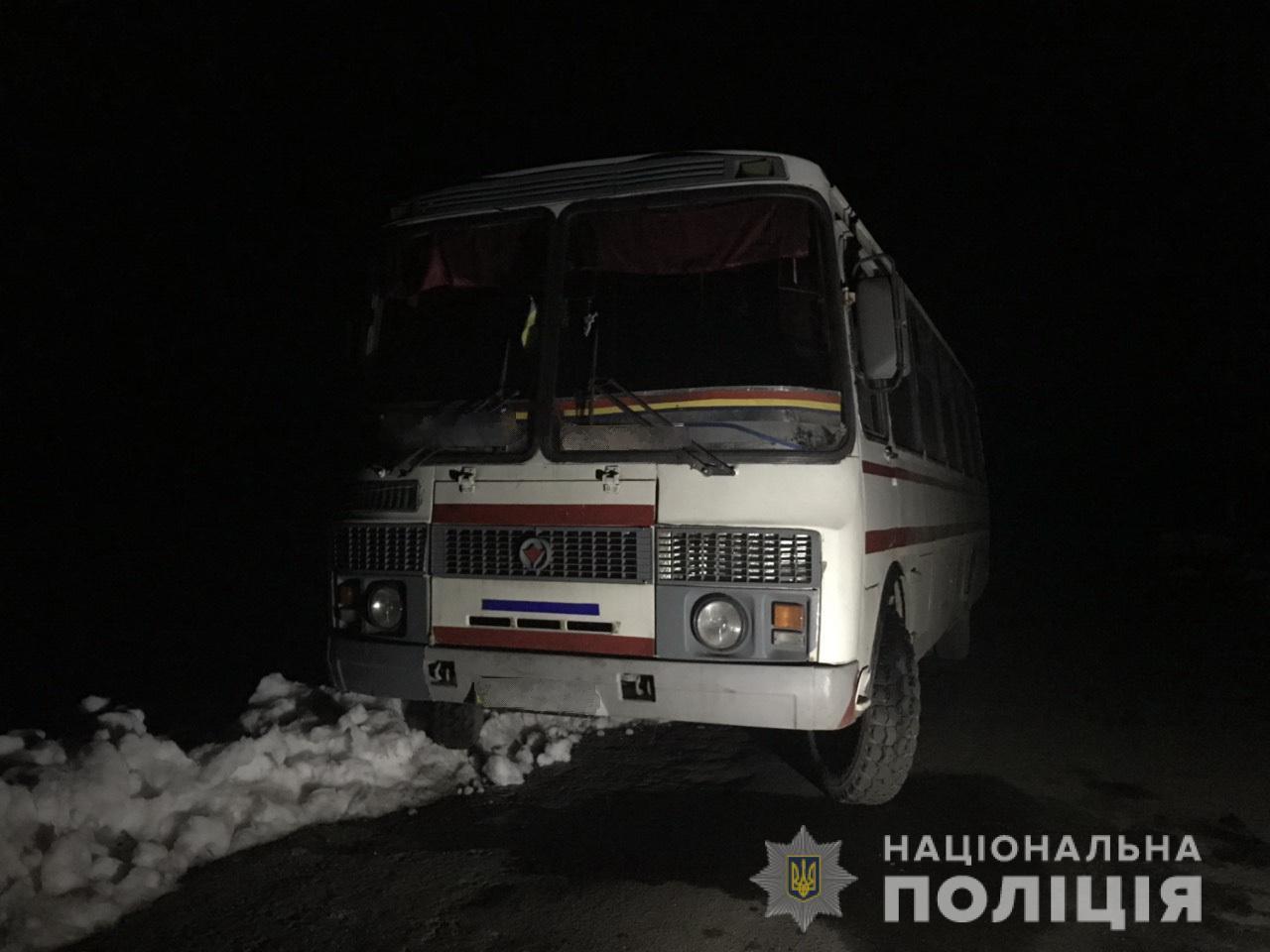 У селі Березники у чоловіка вкрали автобус «ПАЗ»