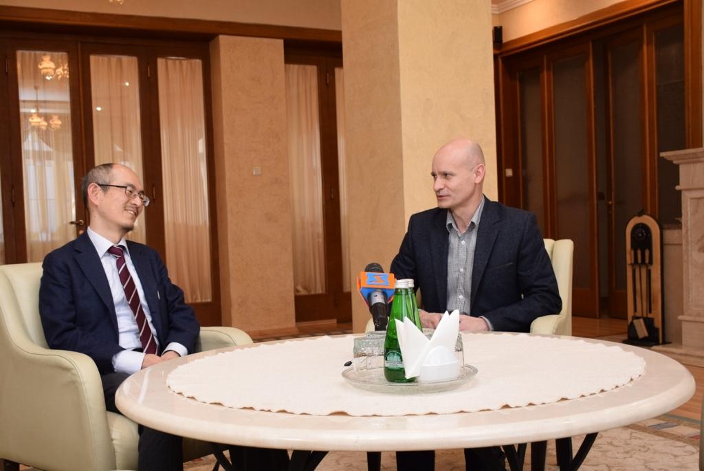 Закарпаття з робочим візитом відвідав Перший секретар Посольства Японії в Україні