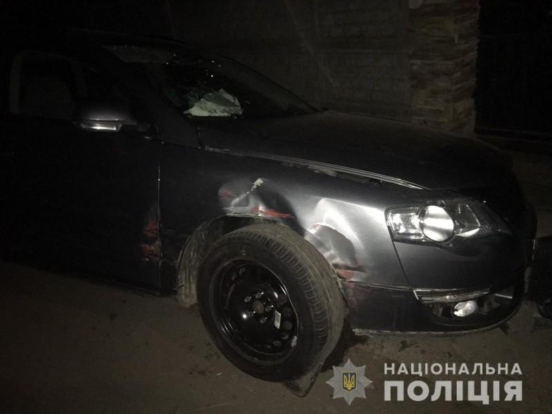 У селі Жнятино, що в Мукачівському районі, вночі сталася аварія