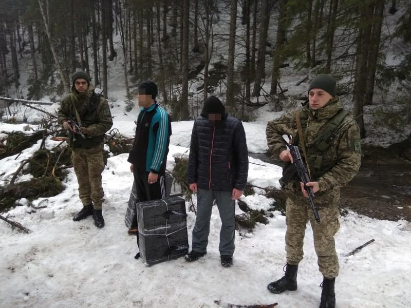 На Закарпатті двох чоловіків затримали за 50 метрів від українсько-румунського кордону