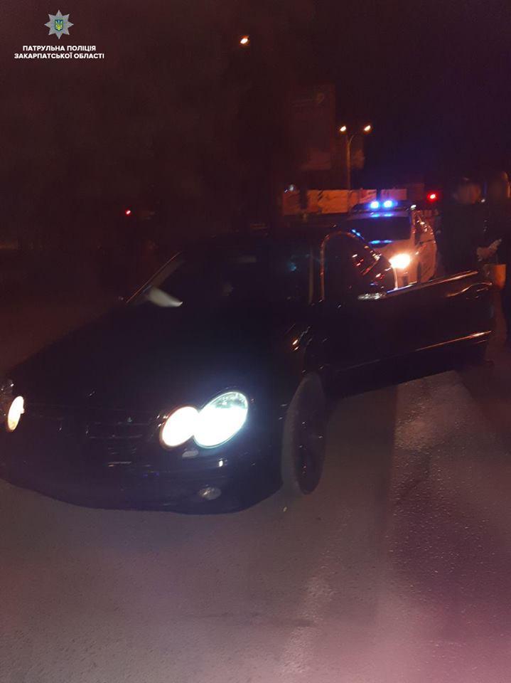 Ужгородські патрульні виявили водія у стані наркотичного сп'яніння