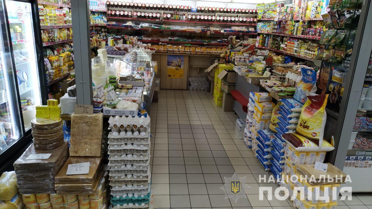 У Мукачеві на ринку чоловік пограбував торговельну точку