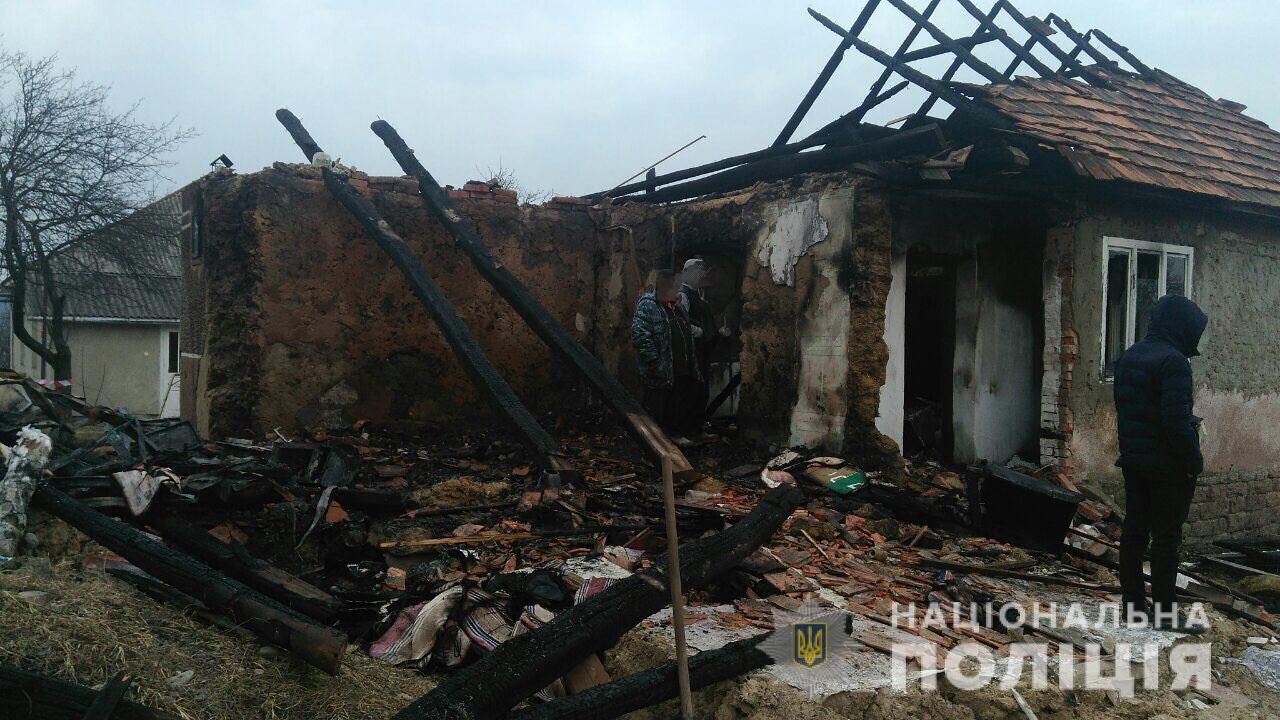 25-річний чоловік вбив молоду жінку у селі Рокосово, а потім підірвав будинок