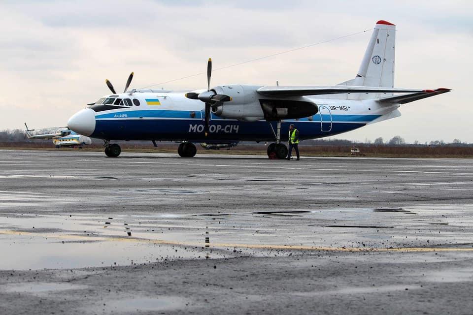 """Аеропорт """"Ужгород"""" відновив свою роботу"""