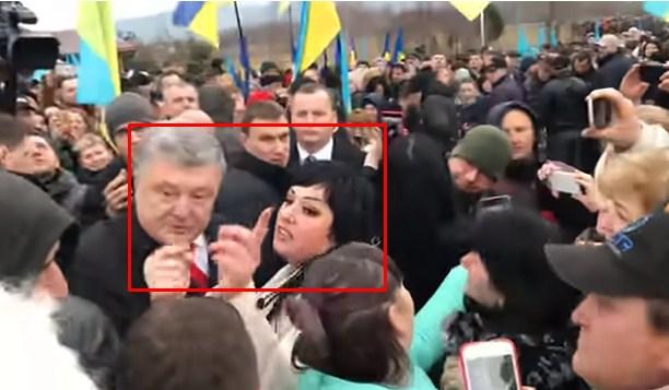 Наслідки приїзду Петра Порошенка: як одна жінка розлютила все Закарпаття