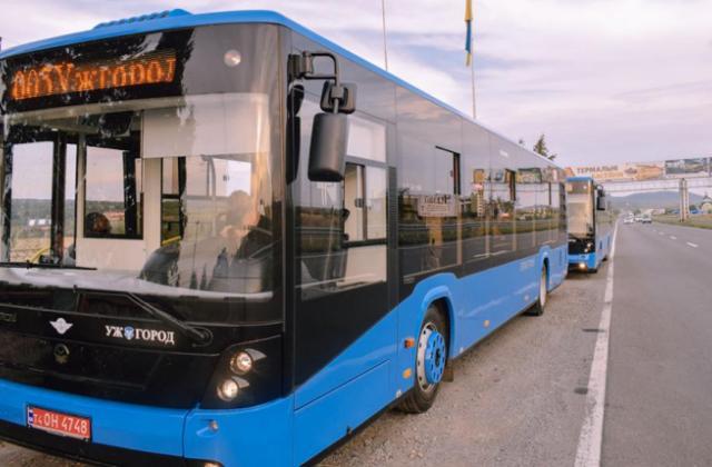 Графік руху автобуса №20 в Ужгороді