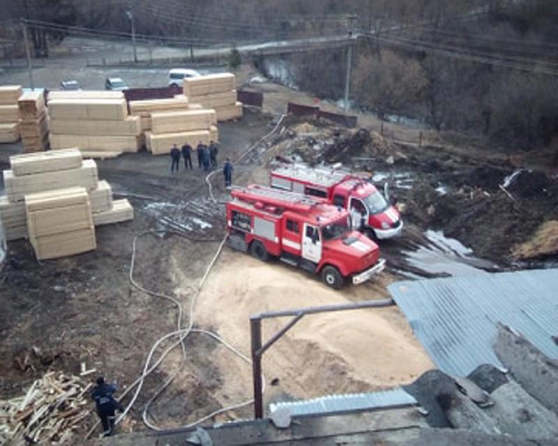 Рятувальники розповіли про пожежу на підприємстві у Нижніх Воротах