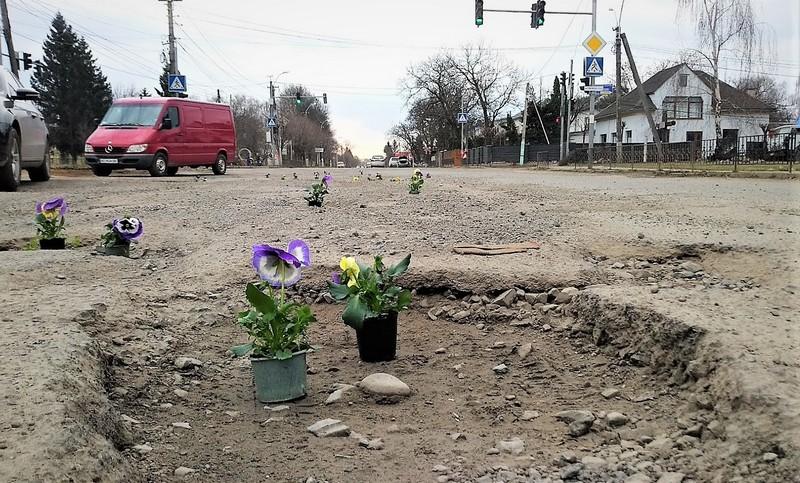 Геннадій Москаль емоційно відреагував на акцію з квітами, яку провели у Виноградові перед приїздом Петра Порошенка