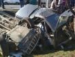 Жахлива ДТП у Ракошині: момент зіткнення зафіксувала камера відеоспостереження