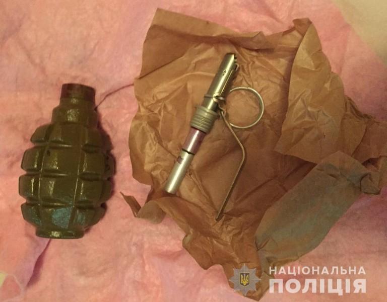 У помешканні мукачівця виявили бойову гранату