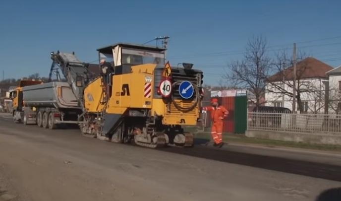 На дорозі «Мукачево – Рогатин» на Закарпатті розпочались ремонтні роботи