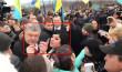 Жінка, яка розлютила все Закарпаття під час приїзду Петра Порошенка, розповіла свою версію події