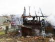 Через пожежу у хліві ледь не загорівся будинок