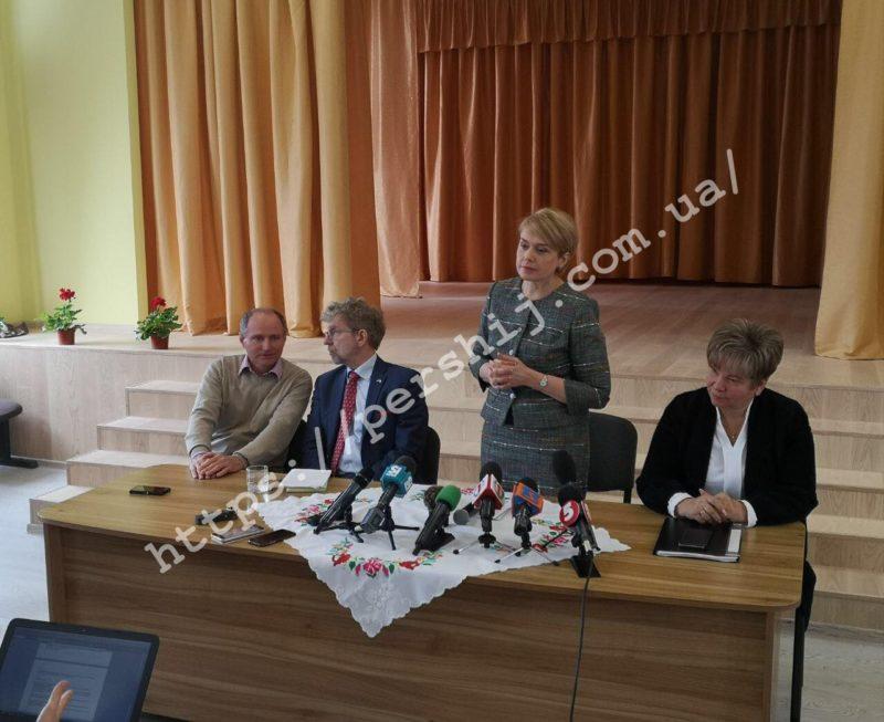 Лілія Гриневич розповіла на Закарпатті про дворівневе ЗНО