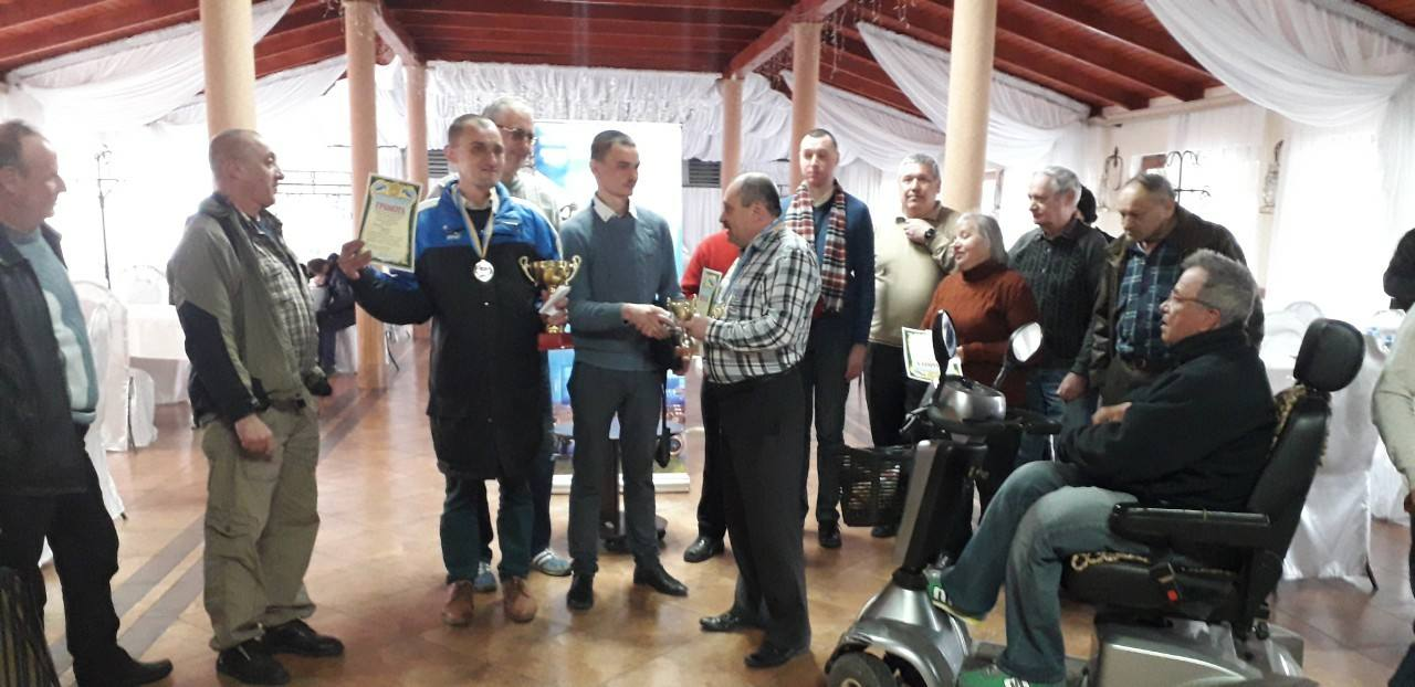 Турнір з шахів та шашок серед інвалідів відбувся у Мукачеві
