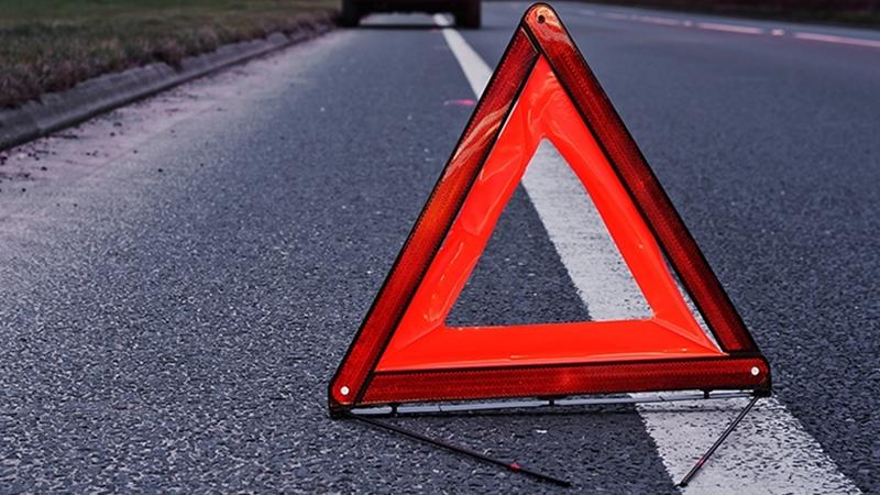 У Виноградові авто врізалося у дорожній знак