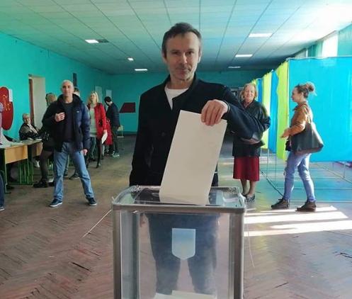 Святослав Вакарчук у Києві зробив свій вибір і прокоментував президентські вибор