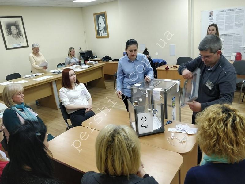 На найменшій виборчій дільниці Ужгорода – у пологовому будинку, вже підрахували голоси