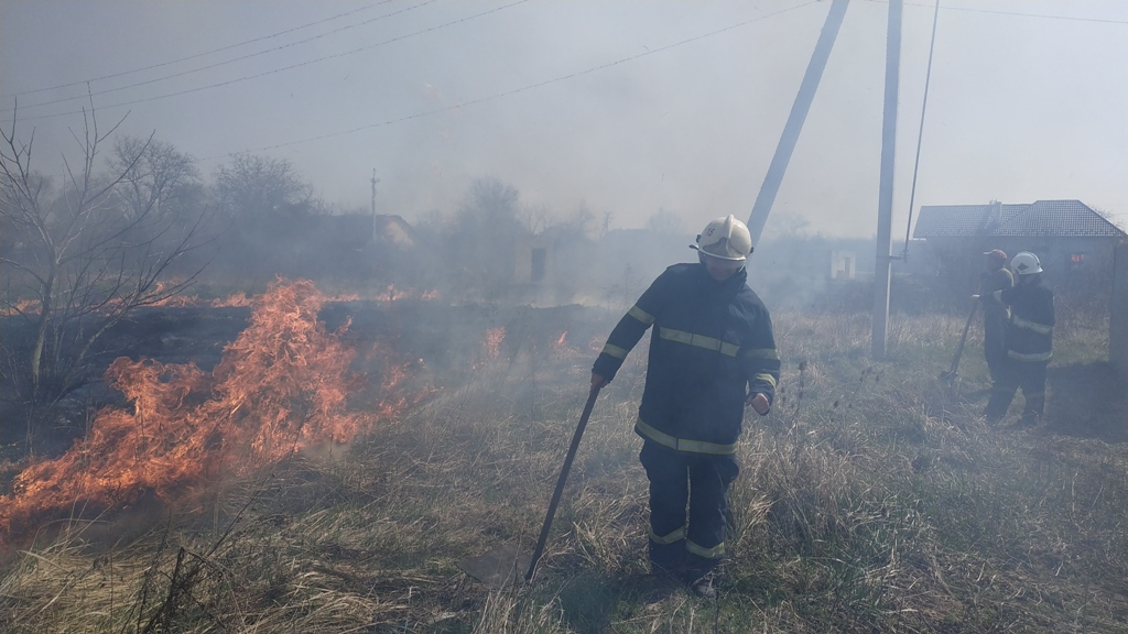 В Ужгородському районі трапилась велика пожежа
