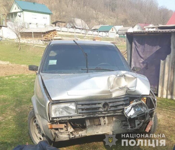 П'яний чоловік скоїв аварію у селі Килини