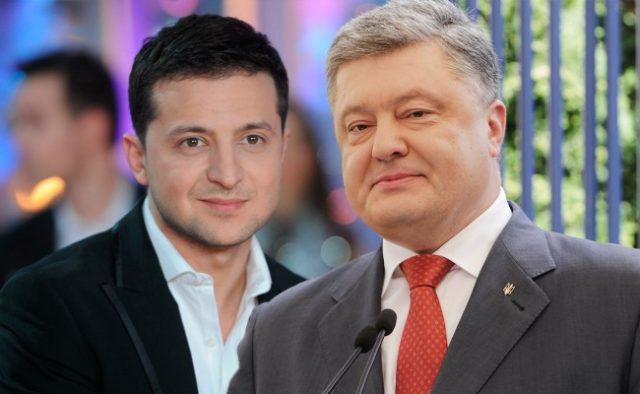 Президент Порошенко завтра чекає Зеленського в медпункті Олімпійського для здачі аналізів
