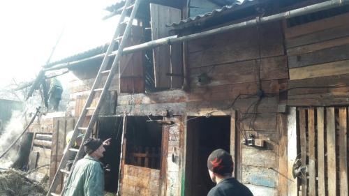 Рятувальники розповіли про пожежу, яка виникла у селі Видричка, що на Рахівщині