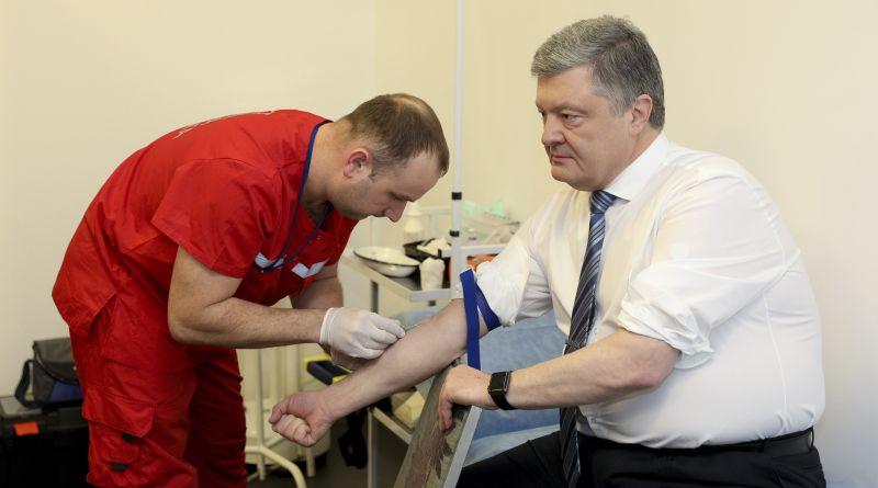 Результати аналізу крові Петра Порошенка на вміст алкоголю та наркотиків