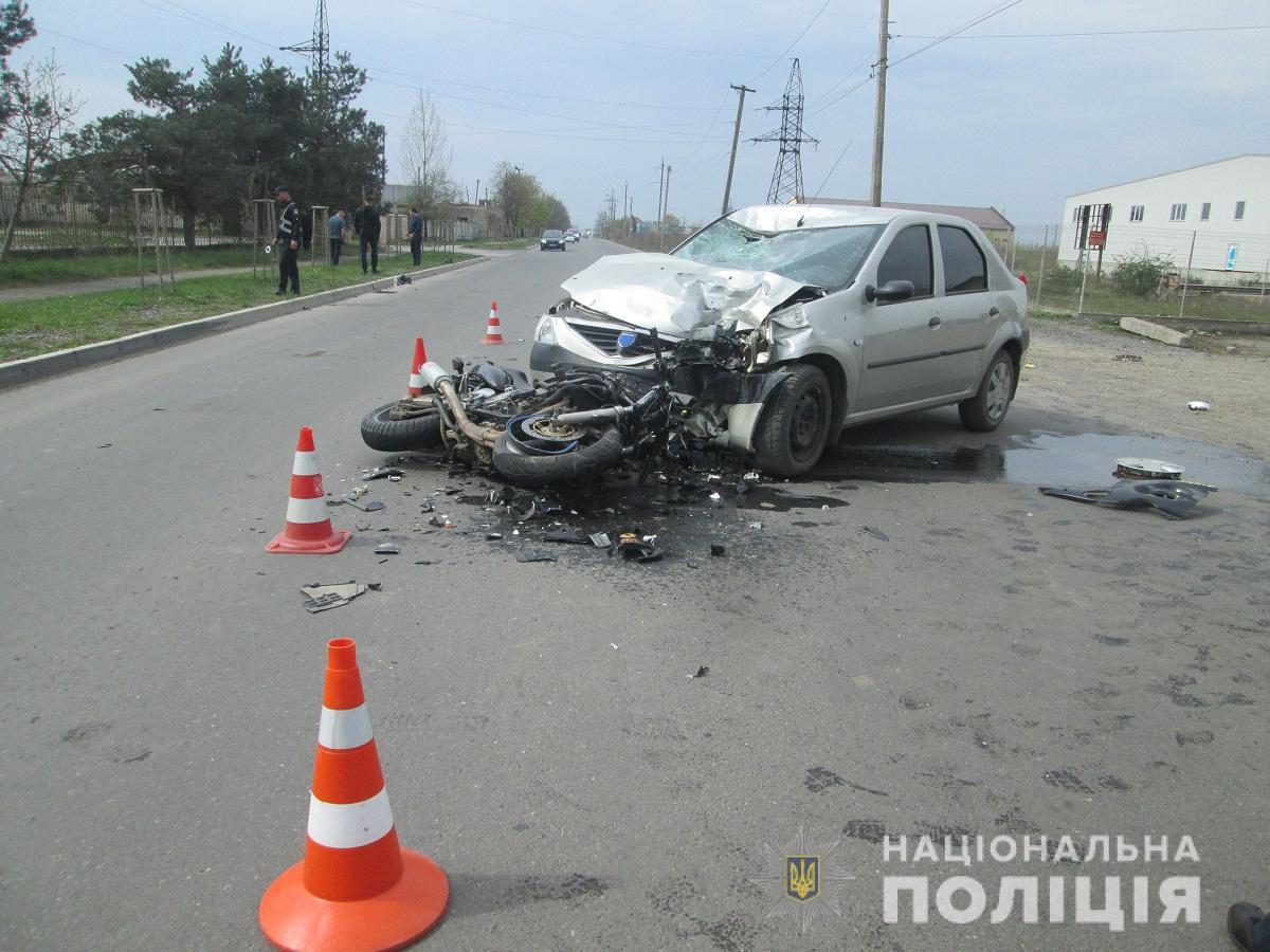 Стали відомими офіційні подробиці ДТП у Мукачеві, у яку потрапив неповнолітній мотоцикліст