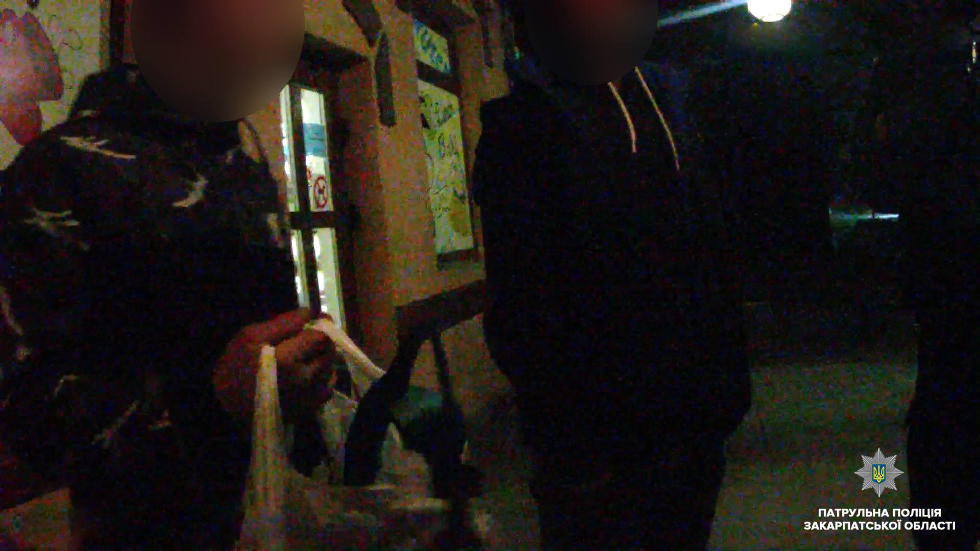 Ужгородські патрульні виявили особу, яка перебувала у розшуку за вчинення кримінального правопорушення