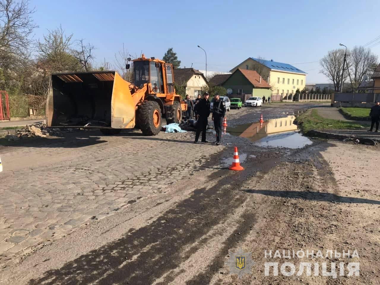В Ужгороді трактор наїхав на мотоцикліста. Травми виявилися смертельні