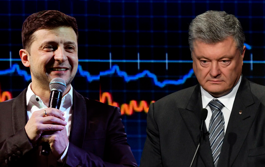Користувачі соцмережі Фейсбук активно реагують на телефонні дебати Порошенка і Зеленського
