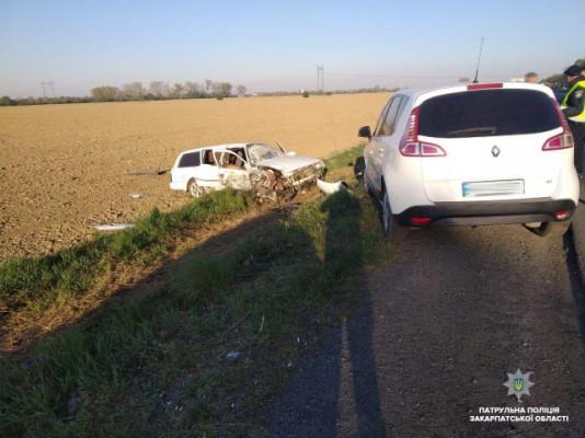 На трасі Київ-Чоп поблизу Мукачева сталася аварія
