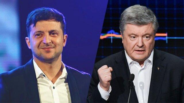 Команди Зеленського і Порошенка 16 квітня підписали угоду про дебати