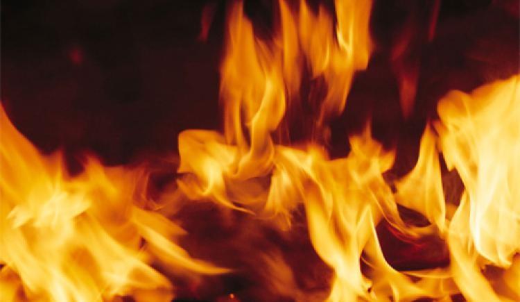 10 вогнеборців гасили вчора пожежу в Мукачеві на вулиці Філатова