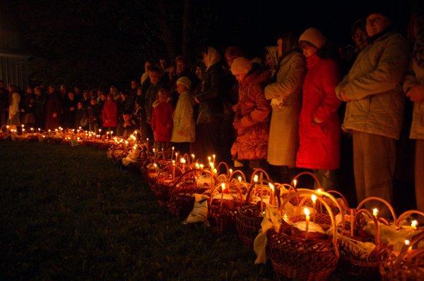 Графік освячення пасок у римо-католицьких церквах Ужгорода