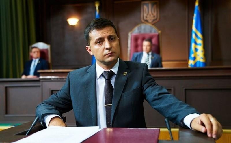 Володимир Зеленський у програмі Право на владу представив свою команду