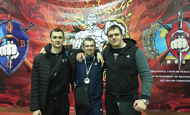 Чемпіоном України із бойового багатоборства став закарпатець Василь Морквич
