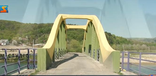 В селі Невицьке Ужгородського району відновили міст закоханих