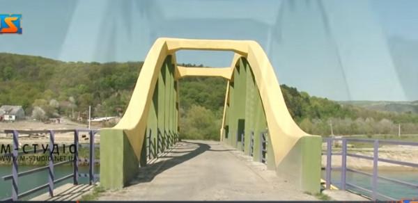 На Ужгородщині відновили міст закоханих