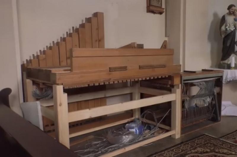 В приужгородській Сторожниці вперше за 30 років встановлюють орган