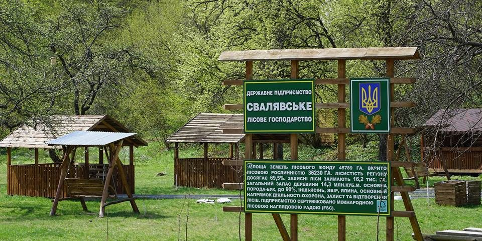 На Свалявщині обладнано новий майданчик для відпочинку