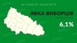 Закарпаття – останнє в Україні по явці виборців на дільниці, станом на 11 годину