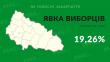 Озвучено явку виборців на Закарпатті станом на 15 годину