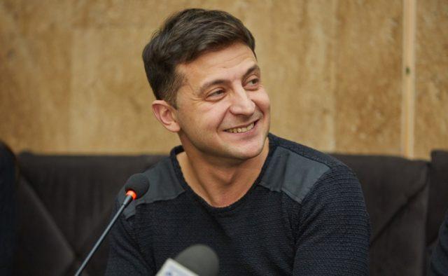 Володимир Зеленський прокоментував свою перемогу на виборах за результатами екзит-полу