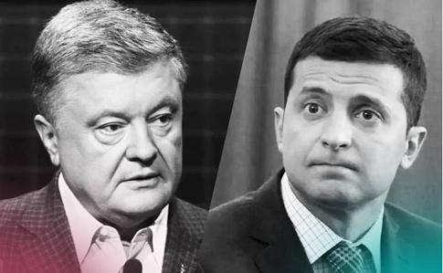 Петро Порошенко переміг Володимира Зеленського за кордоном