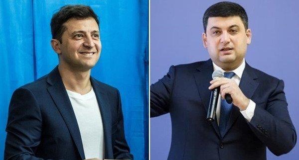 Володимир Зеленський та Володимир Гройсман провели неформальну зустріч